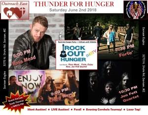 Thunder For Hunger 2018 band flier FINAL ONE OMG[549]